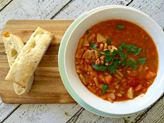 thermomix minestrone soup recipe
