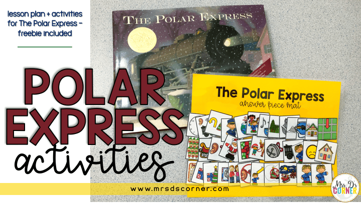 polar express activities blog post header