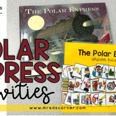 polar express activities blog post header
