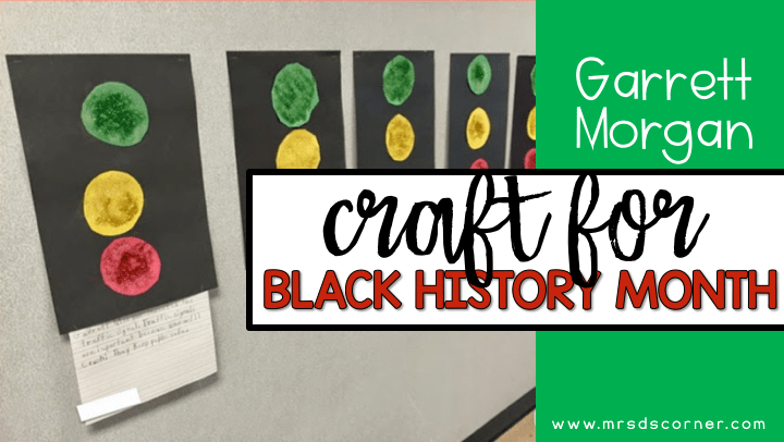 garret Morgan craft for black history month blog post header - black history month craft