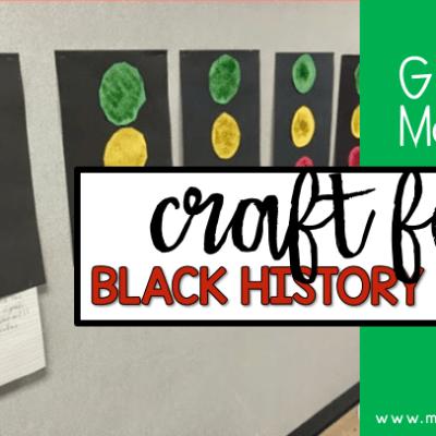 garret Morgan craft for black history month blog post header - black history month craft