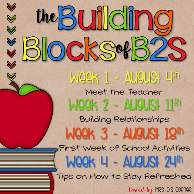 Tips for Teacher Self Care: Building Blocks of Back to School