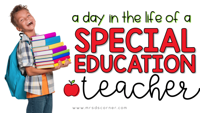 A day in the life of a special education teacher. Teacher humor about a special ed teacher life.