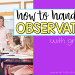 How to Handle a Teacher Observation with Grace