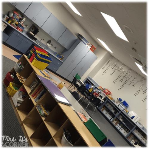 you don't need to have a classroom theme
