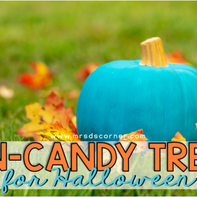 halloween treat ideas that aren't candy header