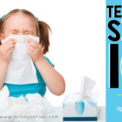 Tips for teachers to not get sick header