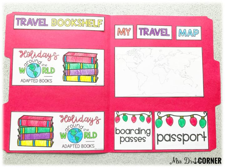 holidays around the world - travel suitcase