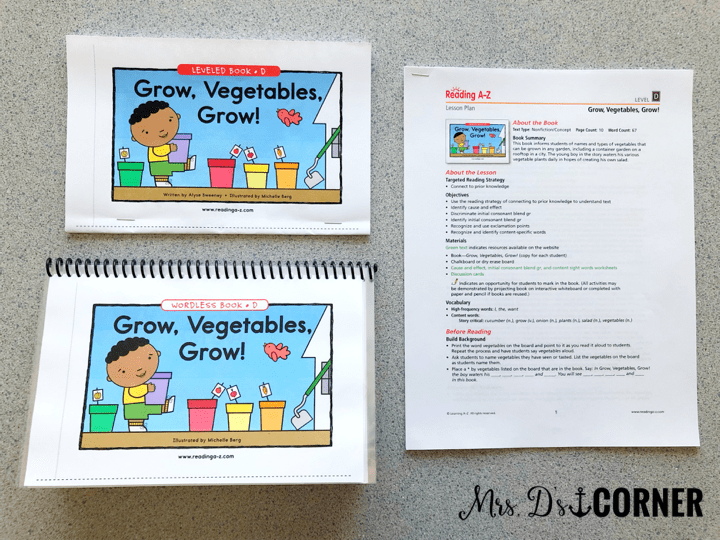 You can use the wordless books to get students writing their own stories, or make interactive stories using sight words.