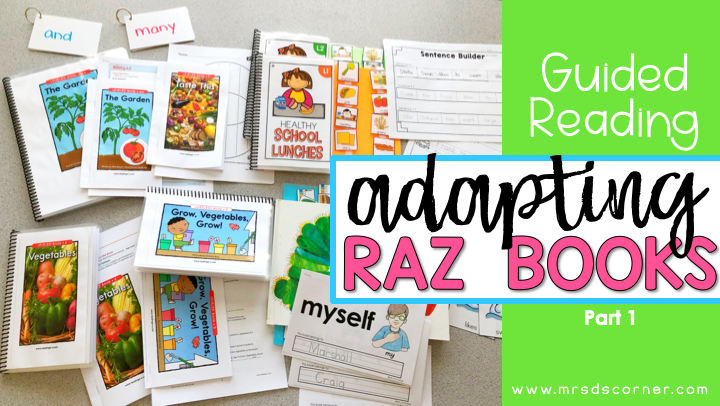 Guided Reading Lessons + Rotation in Self Contained SPED - Part 1 header