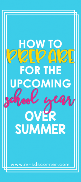 Tips from veteran teachers to prepare for back to school. Their summertime back to school rituals may surprise you! These 9 tips will help you relax during summer, but also get ready for the upcoming school year. Learn the tips at Mrs. D's Corner