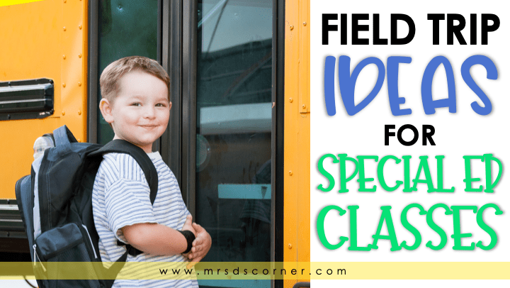 Field Trip Ideas for Special Education Classes