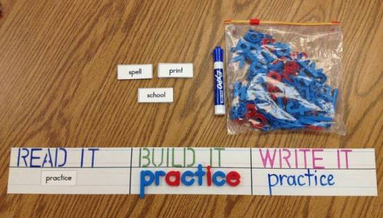 10+ Spelling Activities That Feel like Play - read it build it practice it