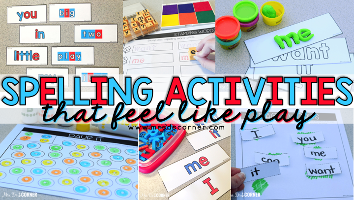 10+ Spelling Activities That Feel like Play