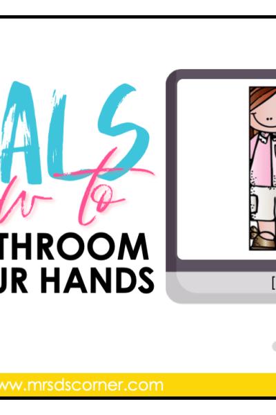 free bathroom visuals for the special ed classroom blog header