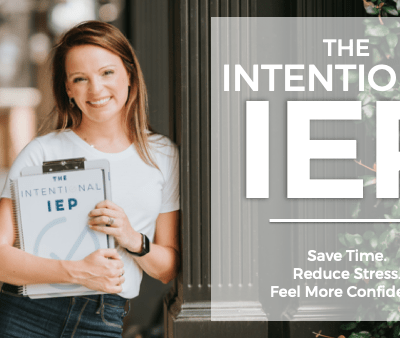 introducing the intentional iep blog post header at mrs ds corner