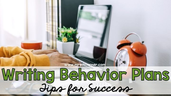 Tips for Successful Behavior Plans