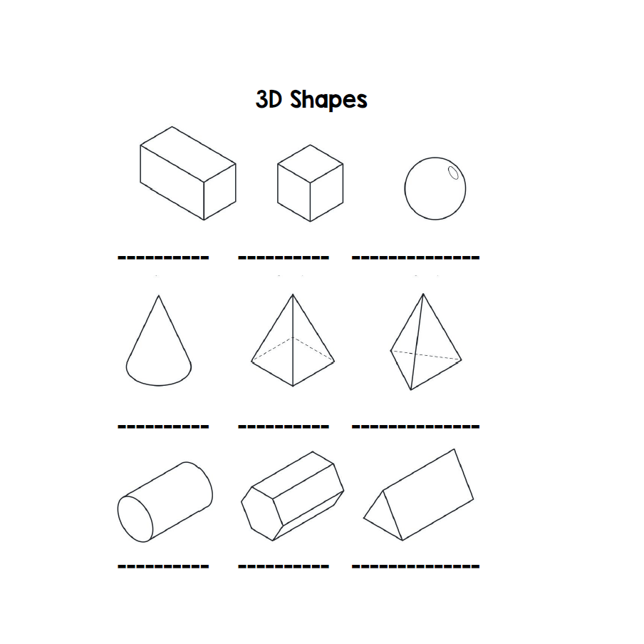 medium resolution of 3D shapes - Learning with Mrs Du Preez
