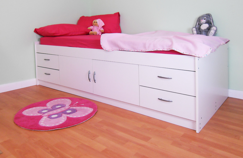 Shorty Cabin Beds With Storage