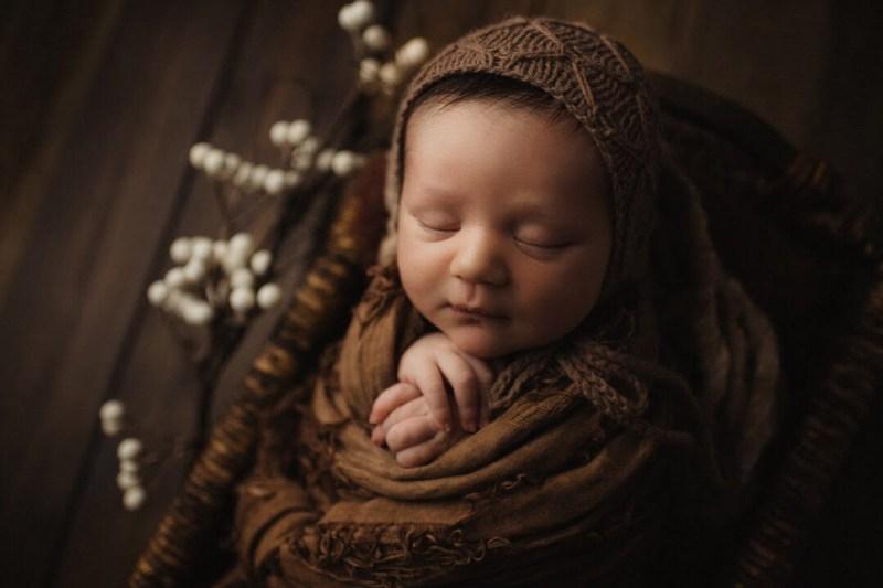 Nyföddfotografering tjuvkik Hugo Liam Stockholm 5