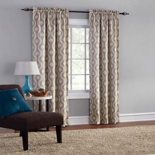 Walmart: Set of 2 Stylish Blackout Curtains for ONLY $9.97!
