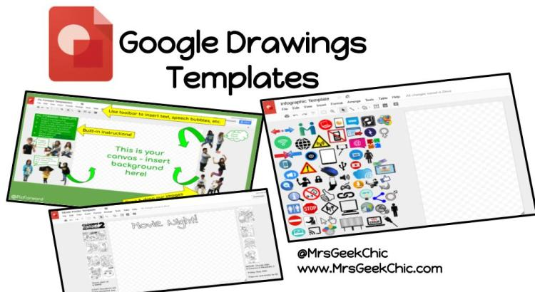 google drawings templates how to free template mrs geek chic