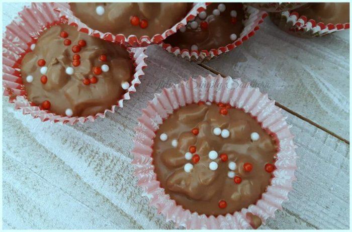 Crockpot Chocolate Peanut Butter Candy