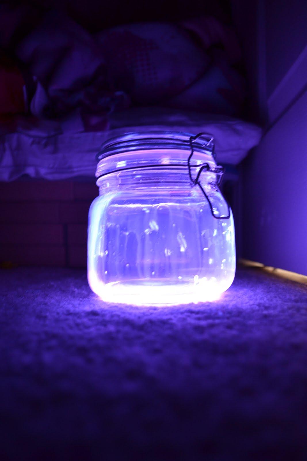 Glow Stick Lanterns  Mrs Happy Homemaker