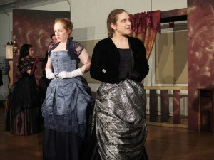 """1.5. """"It seems, Miss Stone, that we have dressed you in entirely too becoming a gown."""""""