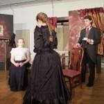 Cast and crew for Mrs. Hawking and Vivat Regina at Arisia 2016