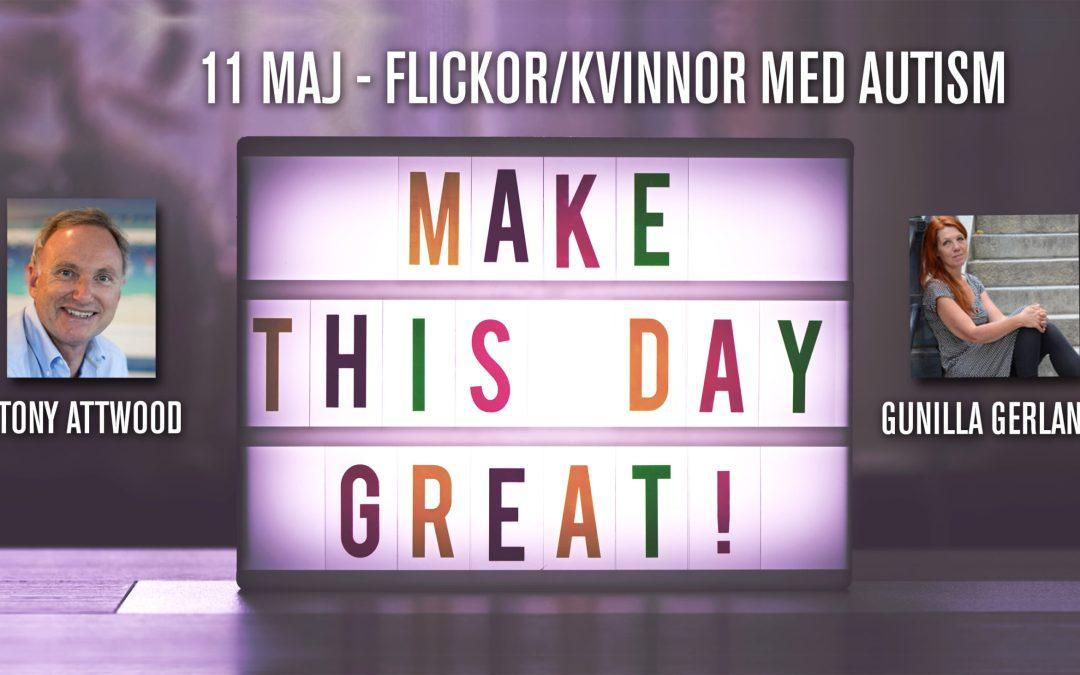 Tony Attwood  föreläser 11 maj i Stockholm