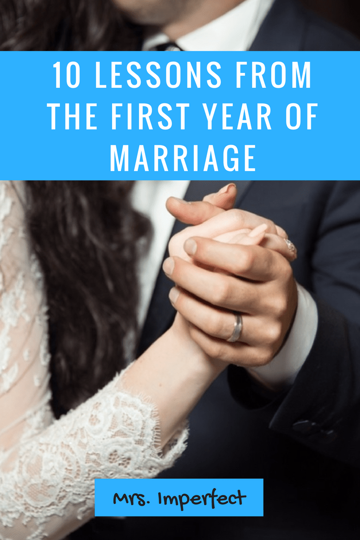 10 Lessons from the First Year of Marriage