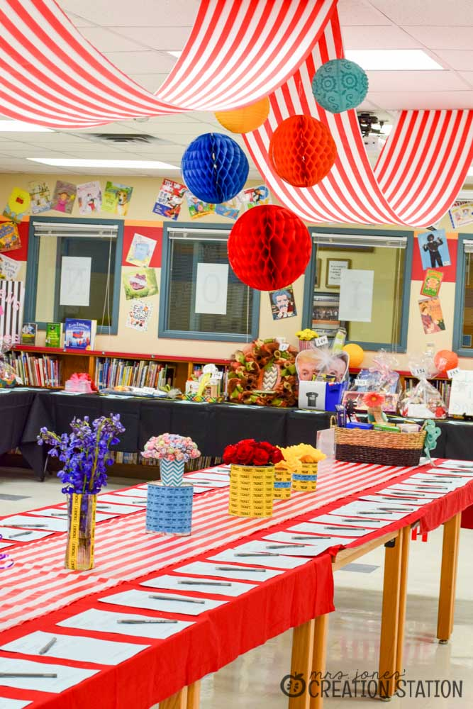 School Carnival Decorations With Oriental Trading Mrs