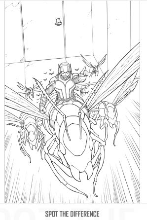 Free Ant-Man Mask & 17 AntMan Printable Activities #