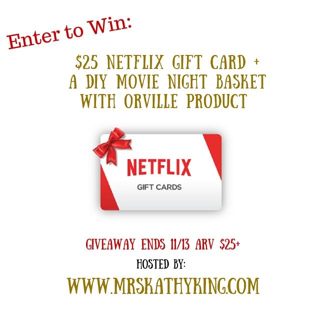 $25 Netflix gift card image
