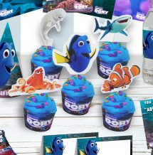 Free Finding Cupcake Toppers & Decorations #findingdory
