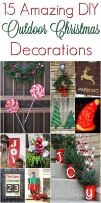 Christmas Outdoor Decoration Diy
