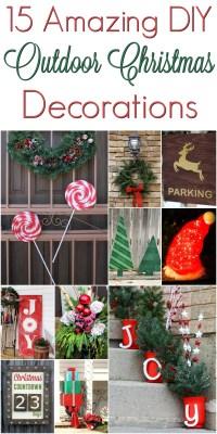 Christmas Outdoor Decoration Diy | Psoriasisguru.com