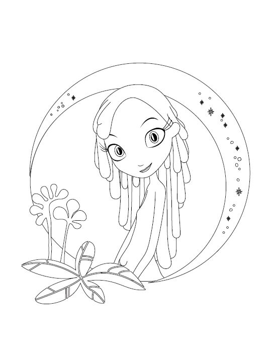 Free MUNE: GUARDIAN OF THE MOON Printable Party