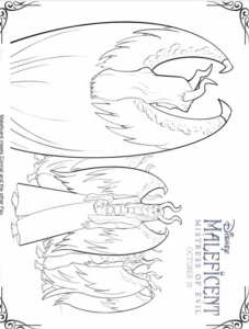 FREE MALEFICENT 2 Activity Sheets and Coloring Pages + My