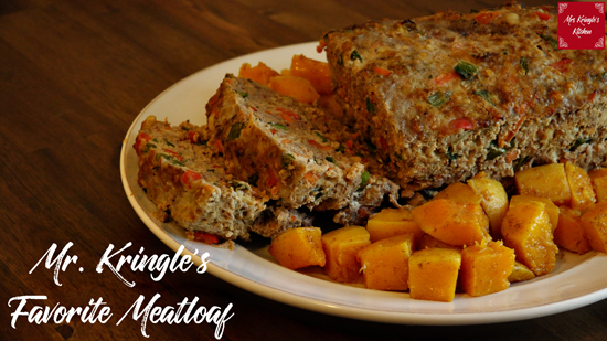 Mr. Kringle's Favorite Meatloaf