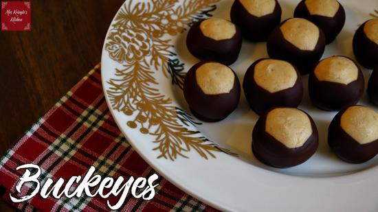 Buckeyes (aka- Peanut Butter Balls)