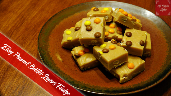 Easy Peanut Butter Lovers Fudge