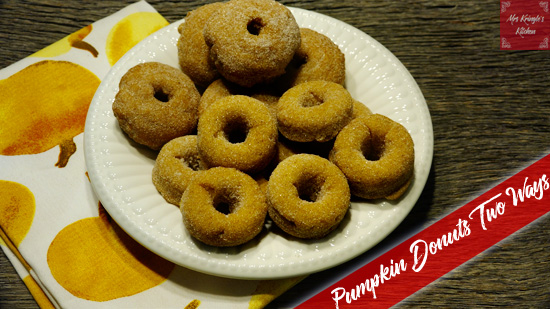 Baked Pumpkin Donuts (with donut pan hack!)