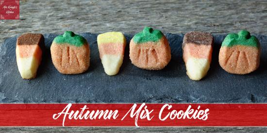 Autumn Mix Cookies