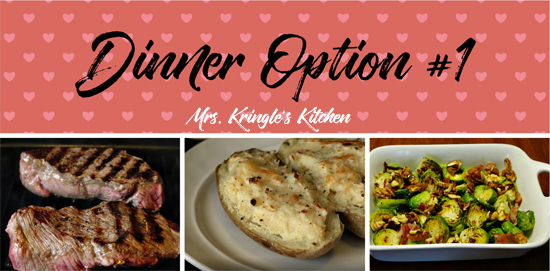 Valentines Day Meal Planning Mrs Kringles Kitchen
