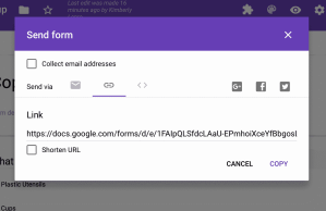 Google Forms Choice Eliminator