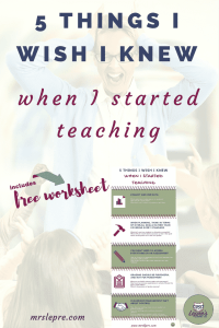 teacher tips | beginning teacher | first year teaching | first year teacher | how to prioritize