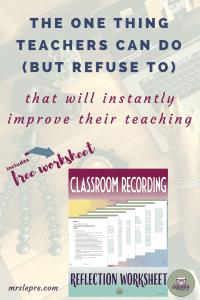 self-reflection | teachers | teaching | improve teaching | how to be a better teacher | first year teacher | first year teaching
