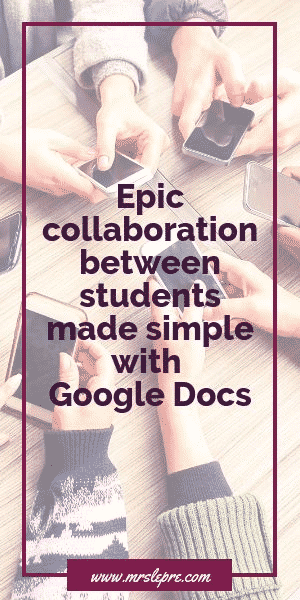 Gone are the days of students emailing revisions back and forth. Foster epic collaboration in real-time with your students with Google Docs. google docs | educational technology | edtech | using Google Docs | student collaboration | group work | student groups | first year teacher | teacher tips | teaching strategies | integrating technology